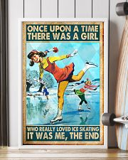 ice skating girl once upon a time poster 11x17 Poster lifestyle-poster-4
