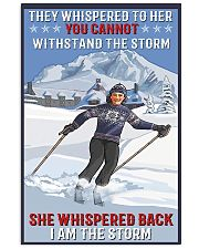 skiing i am a storm 11x17 Poster front