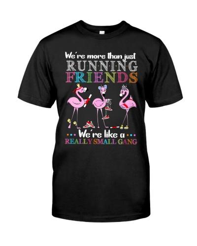 Flamingo Friends Running gang
