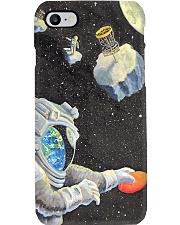 astronaut disc golf phonecase Phone Case i-phone-8-case