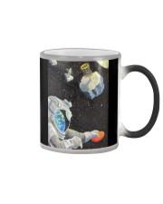 astronaut disc golf phonecase Color Changing Mug tile