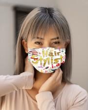 hair stylist i am mas Cloth Face Mask - 3 Pack aos-face-mask-lifestyle-18