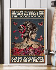 butterfly girl peace poster 11x17 Poster lifestyle-poster-4