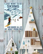 skiing ignore all problems 11x17 Poster lifestyle-holiday-poster-2