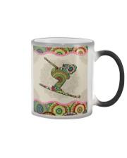 skiing mandala phonecase Color Changing Mug thumbnail