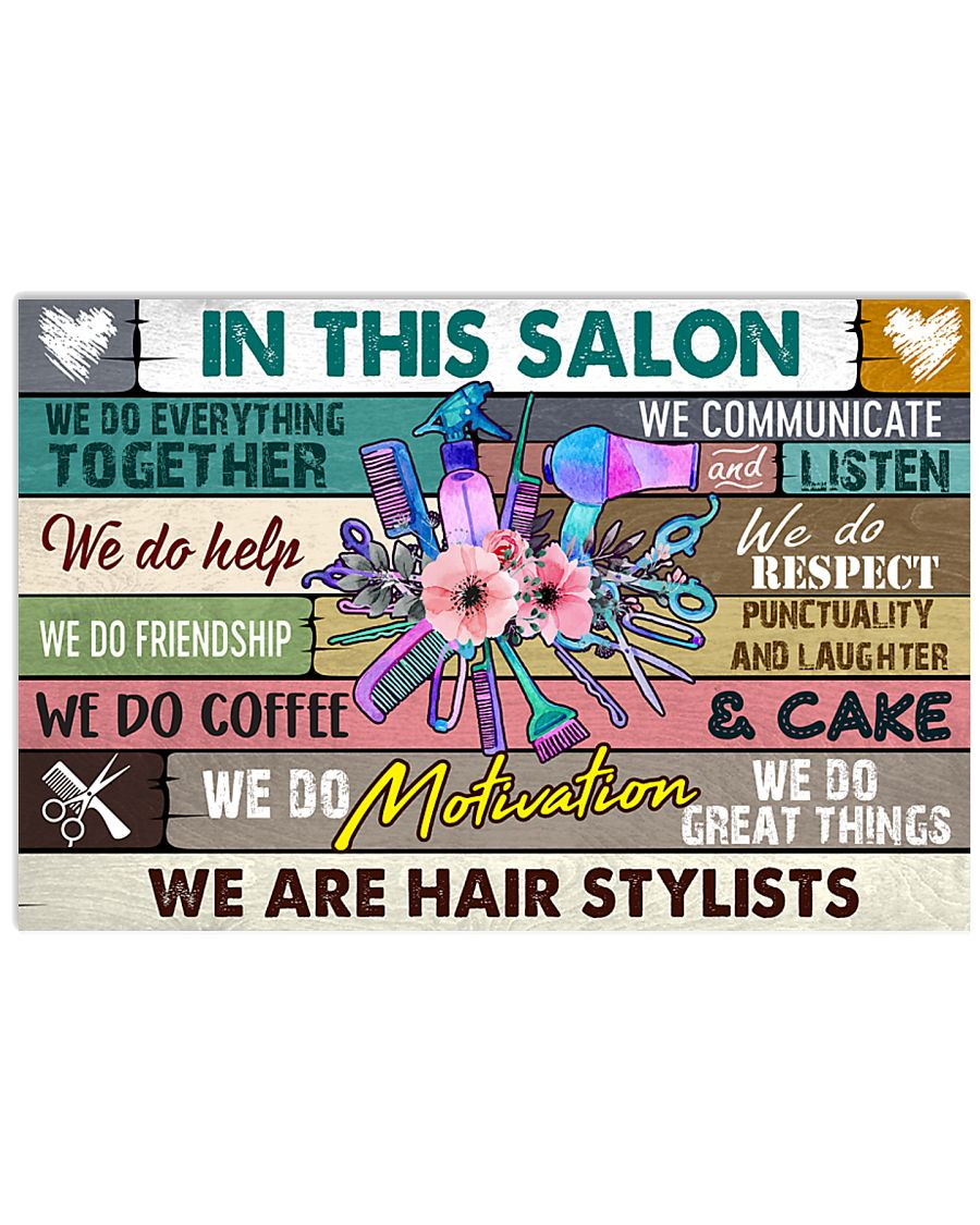 stylist-poster 17x11 Poster