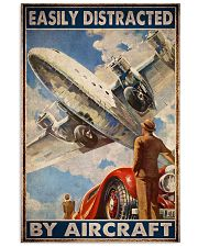 aircraft easily distracted pt mttn ngt 11x17 Poster front