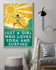 surfing and yoga 11x17 Poster lifestyle-poster-1