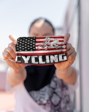cycling us flag mas Cloth Face Mask - 3 Pack aos-face-mask-lifestyle-07