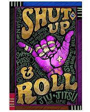 jiu jitsu shut up and roll pt lqt nna 24x36 Poster front