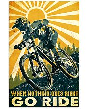 Mountain Bike Go Ride 11x17 Poster front