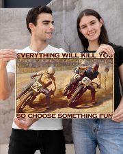 dirt bike racing choose something fun pt phq ntv 24x16 Poster poster-landscape-24x16-lifestyle-21