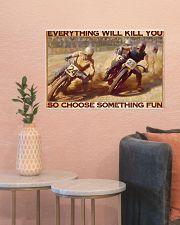 dirt bike racing choose something fun pt phq ntv 24x16 Poster poster-landscape-24x16-lifestyle-22