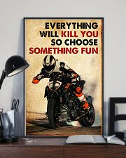 Motor Racing Choose Something Fun poster 11x17 Poster lifestyle-poster-2