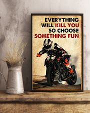 Motor Racing Choose Something Fun poster 11x17 Poster lifestyle-poster-3