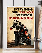 Motor Racing Choose Something Fun poster 11x17 Poster lifestyle-poster-4
