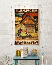 boys basketball farm once upon pt phq ngt 24x36 Poster lifestyle-holiday-poster-3