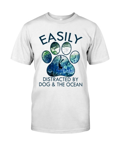 scuba dog ocean