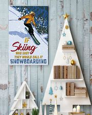 skiing not easy 11x17 Poster lifestyle-holiday-poster-2