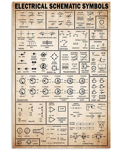 electrician electrical schematic symbols