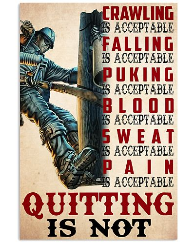 lineman not quitting