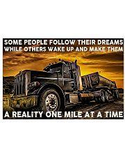 Trucker Dream 24x16 Poster front