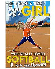 softball girl once upon a time 11x17 Poster front