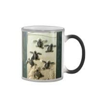 turtle and sea phonecase lqt pml Color Changing Mug tile