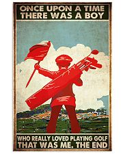 boys loved playing golf once upon pt mttn ngt 11x17 Poster front