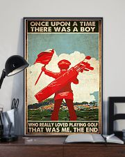 boys loved playing golf once upon pt mttn ngt 11x17 Poster lifestyle-poster-2