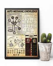 Auto Mechanic Knowledge 24x36 Poster lifestyle-poster-8