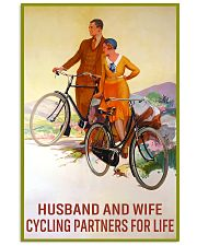 cycling partners for life 11x17 Poster front
