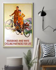 cycling partners for life 11x17 Poster lifestyle-poster-1