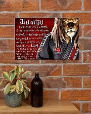 jiu jitsu lion pt lqt NTH 17x11 Poster poster-landscape-17x11-lifestyle-23