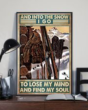 skiing equipment find my soul poster 11x17 Poster lifestyle-poster-2