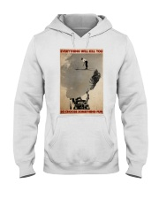 ski jumping over car choose st fun pt mttn-dqh Hooded Sweatshirt thumbnail