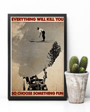 ski jumping over car choose st fun pt mttn-dqh 11x17 Poster lifestyle-poster-8