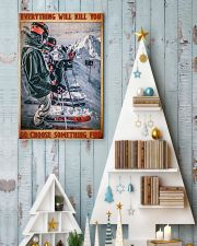 skiing racing choose something fun poster 11x17 Poster lifestyle-holiday-poster-2