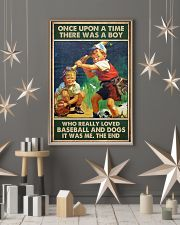baseball boy dog once upon a time poster 24x36 Poster lifestyle-holiday-poster-1
