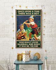 baseball boy dog once upon a time poster 24x36 Poster lifestyle-holiday-poster-3
