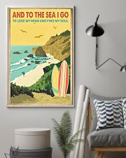surfing And to the sea I go 11x17 Poster lifestyle-poster-1
