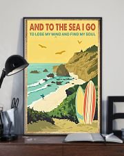 surfing And to the sea I go 11x17 Poster lifestyle-poster-2
