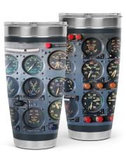 pilot cockpit bottle phn pml 30oz Tumbler tile