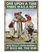 baseball boy once upon a time poster 24x36 Poster front