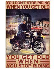 royal biker never get old pt lqt ntv 11x17 Poster front