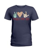 peace-love-ASL Ladies T-Shirt thumbnail
