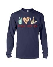 peace-love-ASL Long Sleeve Tee thumbnail