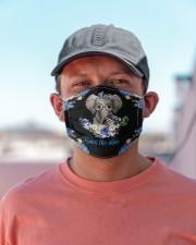 police elephant back the blue mas Cloth Face Mask - 3 Pack aos-face-mask-lifestyle-06