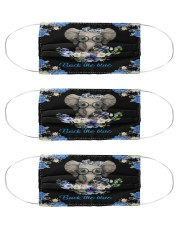 police elephant back the blue mas Cloth Face Mask - 3 Pack front