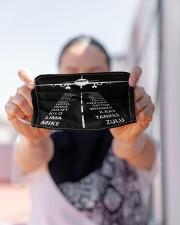 pilots lingo mas Cloth Face Mask - 3 Pack aos-face-mask-lifestyle-07
